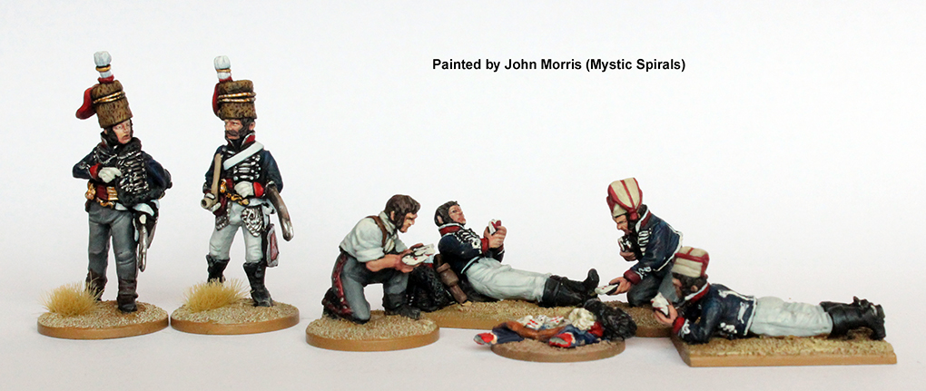 Light Cavalry Relaxing - Perry Miniatures