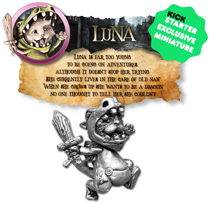 Luna The Dragon - Northumbrian Tin Soldier