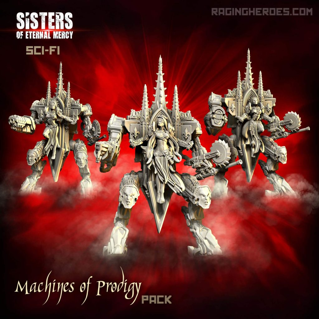 Machines of Prodigy #1 - Raging Heroes