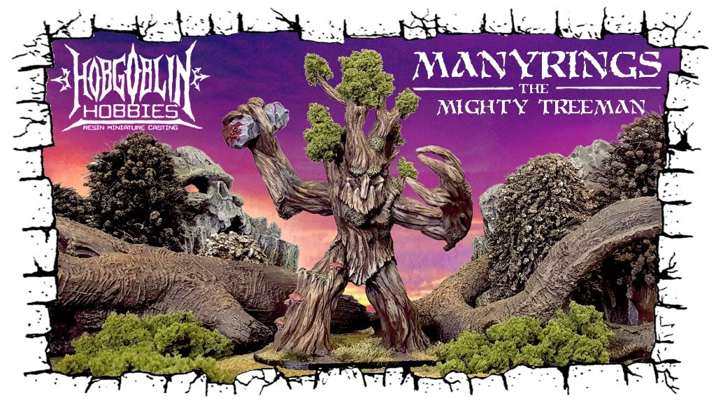 Manyrings Treeman - Hobgoblin Hobbies