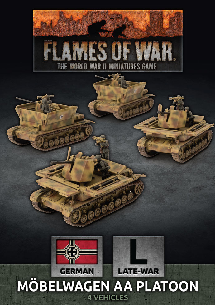 Mobelwagen AA Platoon - Flames Of War