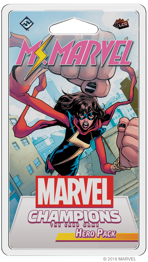 Ms Marvel Hero Pack - FFG