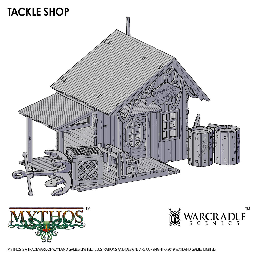 Mythos Tackle Shop - Warcradle Scenics
