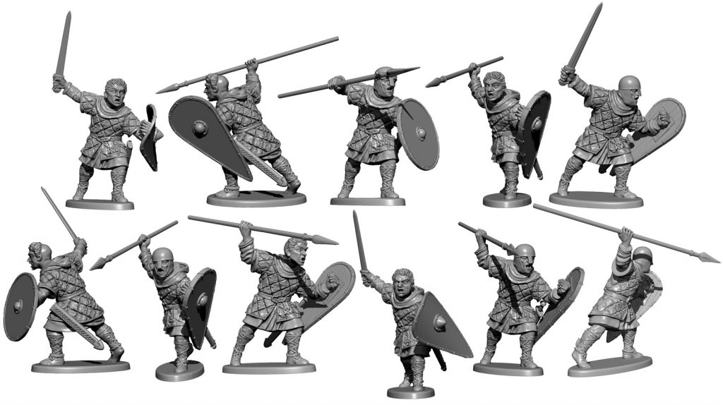 Norman Unarmoured Preview #2 (Alt) - Victrix