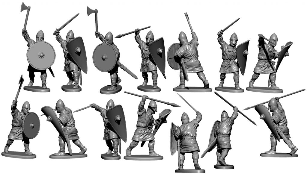 Norman Unarmoured Preview #2 - Victrix