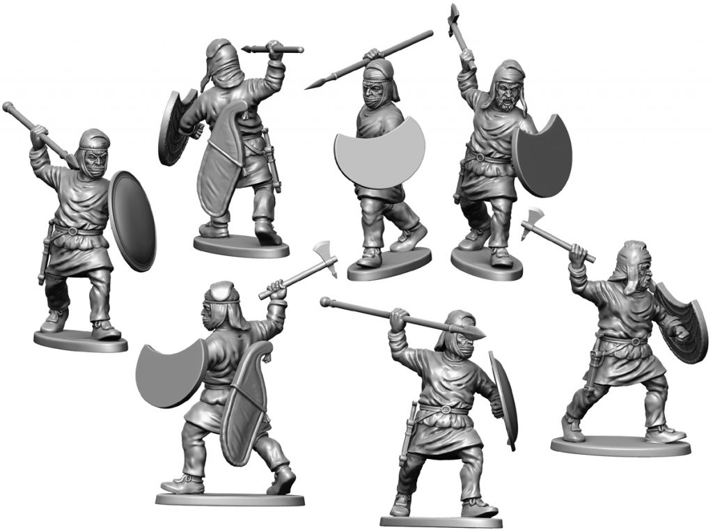 Oct Persian Infantry #2 - Victrix