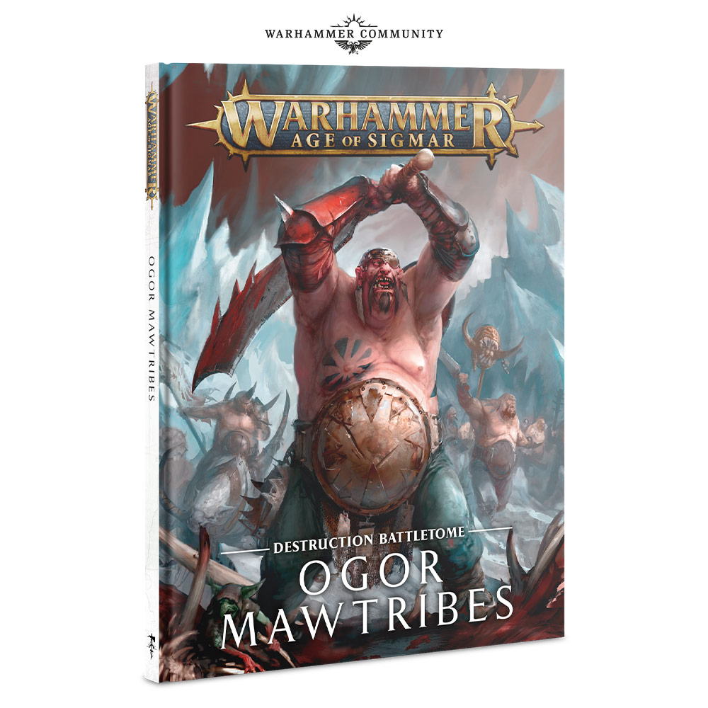 Ogor Mawtribes Battletome - Age Of Sigmar