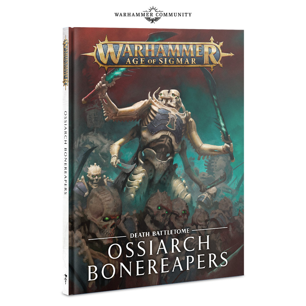 Ossiarch Bonereapers Battletome - Age Of Sigmar