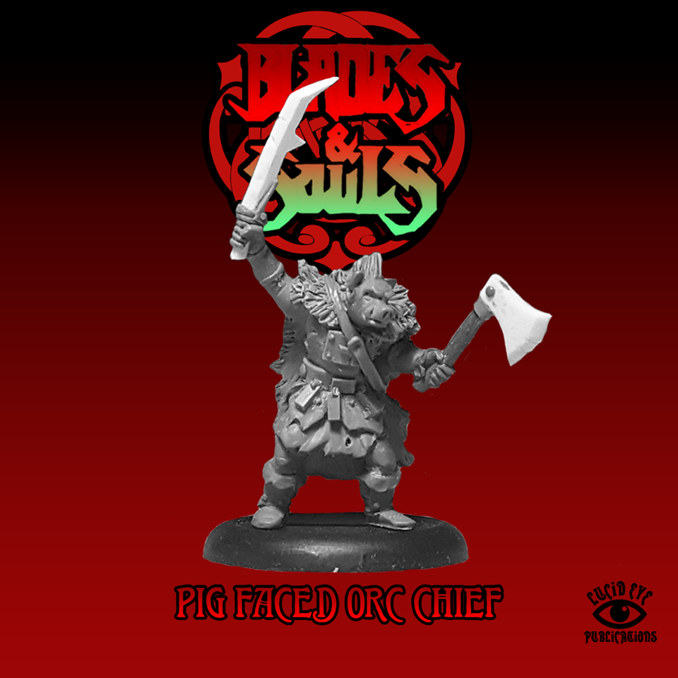 Pig Faced Orc Chief - Lucid Eye