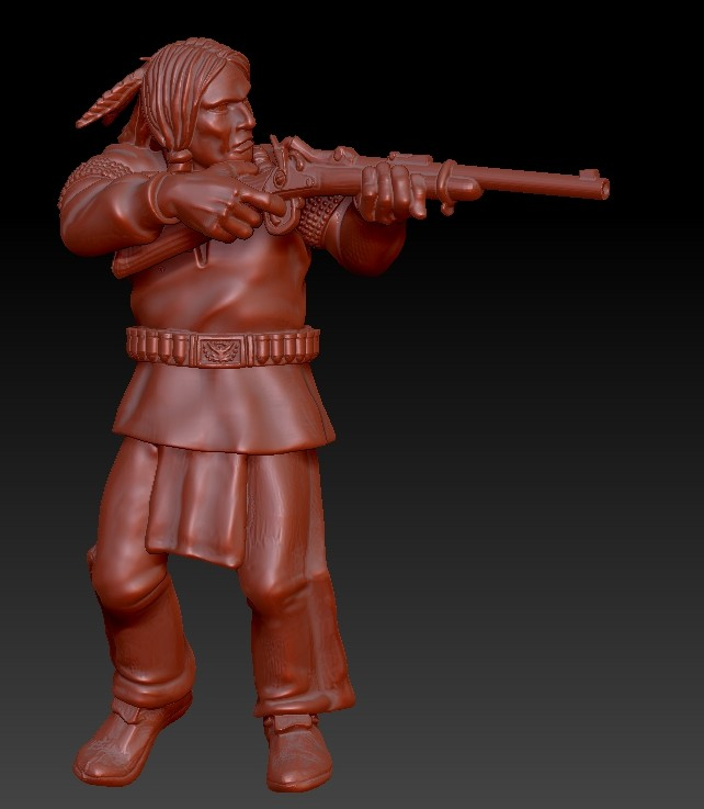 Plains Indian - Knuckleduster Miniatures
