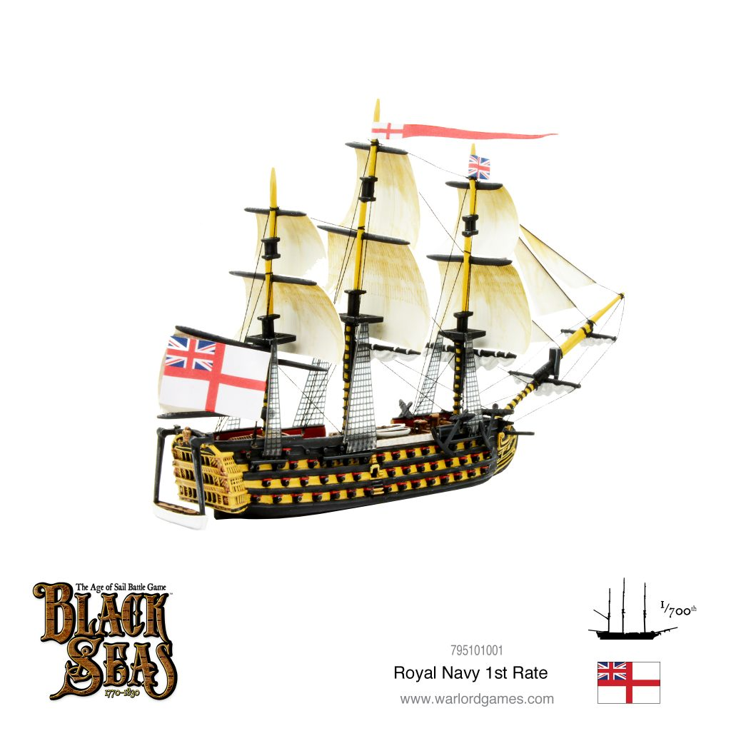Royal Navy 1st Rate #2 - Black Seas