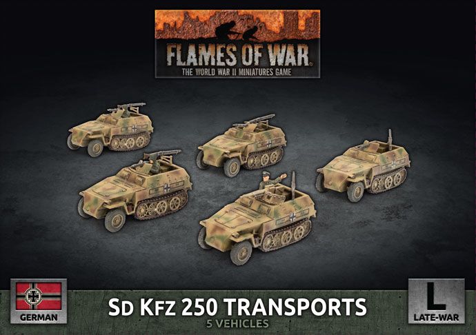 Sd Kfz 250 Transports - Flames Of War