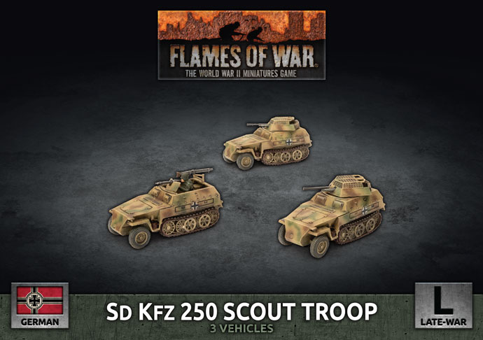 Sd Kfz Scout Troop - Flames Of War