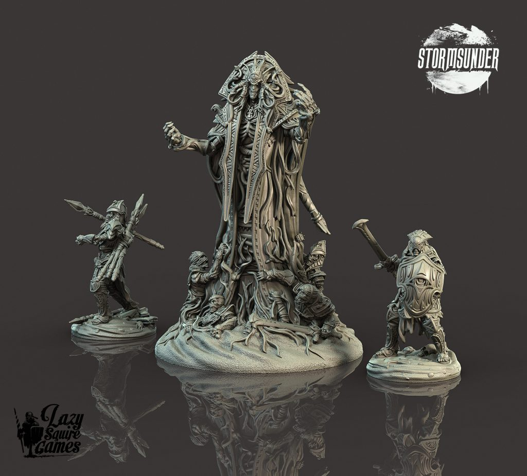Stormsunder Heirs of Ruin Large Villain - Lazy Squire Games