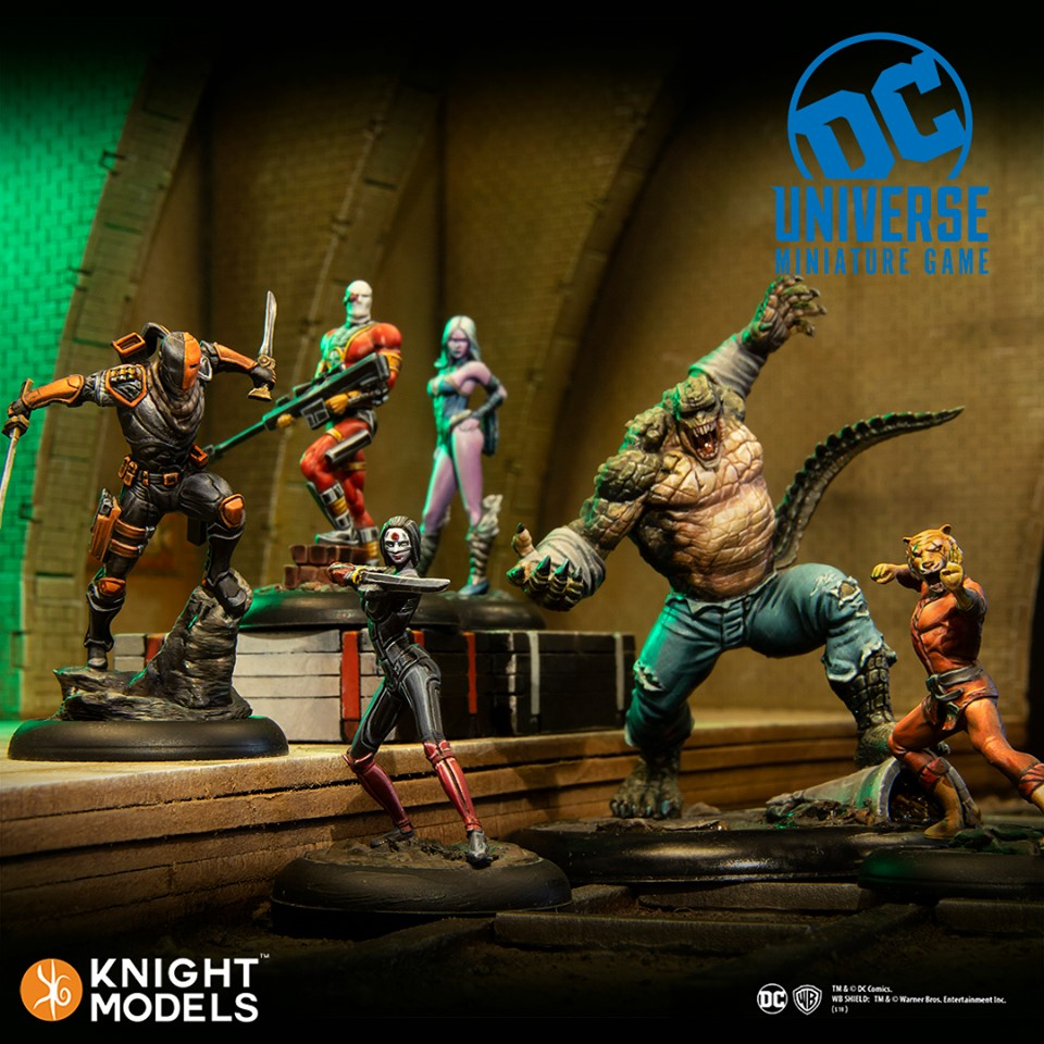 Suicide Squad - Knight Models