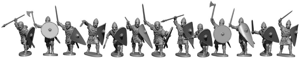 Unarmoured Normans Preview #3 - Victrix Limited