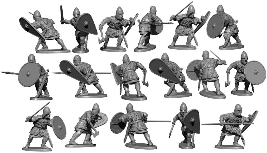 Unarmoured Normans Preview #4 - Victrix Limited