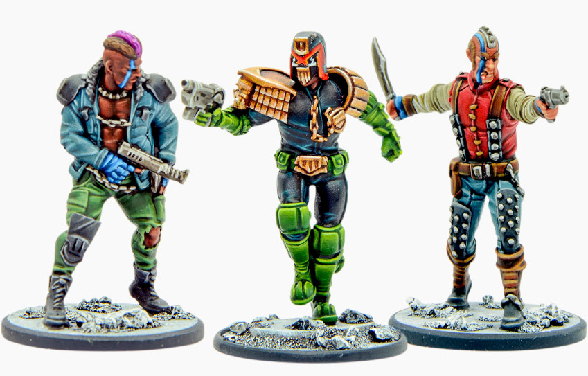 Warlord Dredd Preview Pack