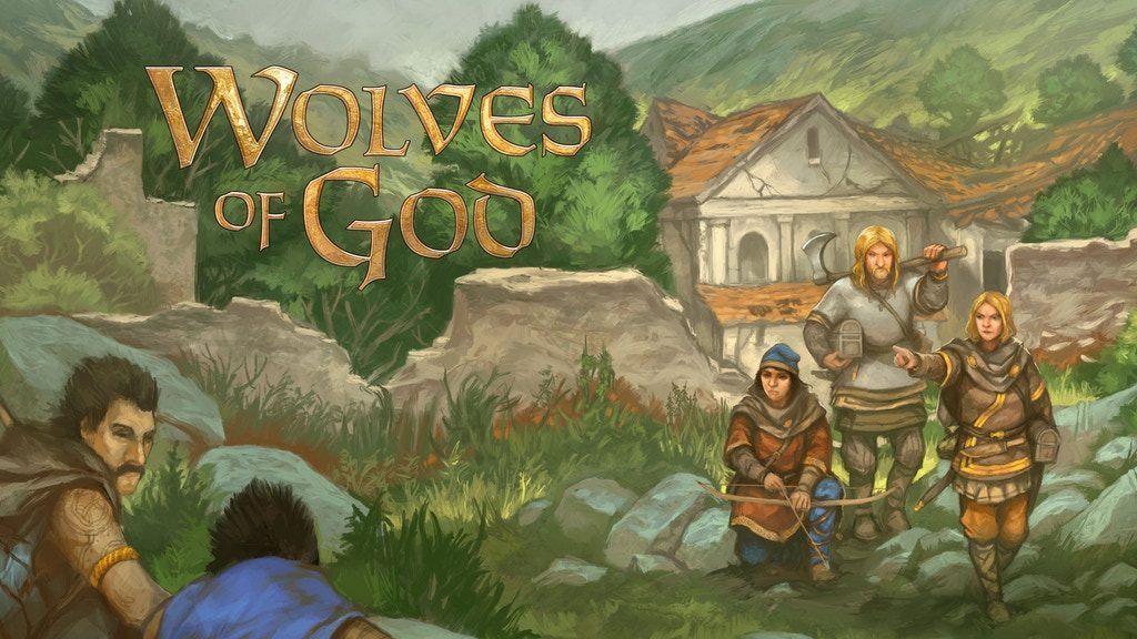 Wolves Of God Art #1