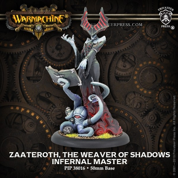 Zaateroth The Weaver Of Shadows - Warmachine