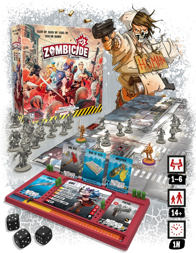 Zombicide 2nd Edition - CMON