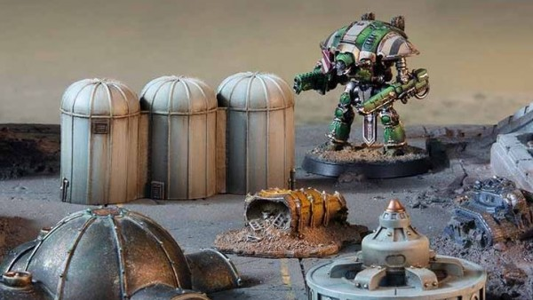 Forge World Craft Terrain For Your Adeptus Titanicus Tabletops