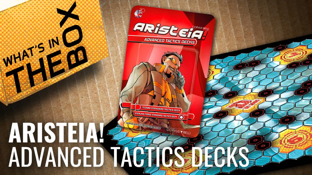 Unboxing Aristeia: Advanced Tactics Decks & Gaming Mat