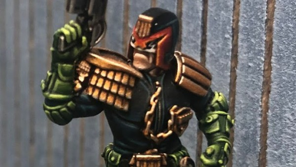 Painted Previews Pop Up For Warlord Games' Judge Dredd