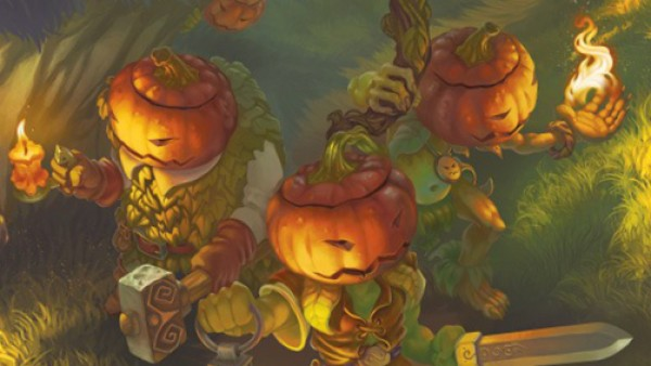 Halloween Sees Spellcrow's Secret Garden In English!