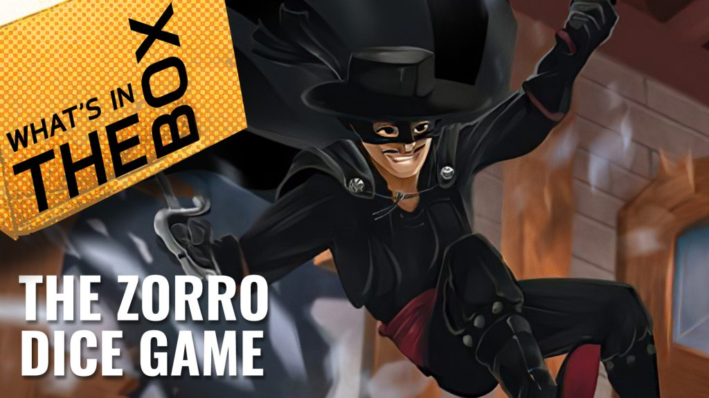 Unboxing: The Zorro Dice Game