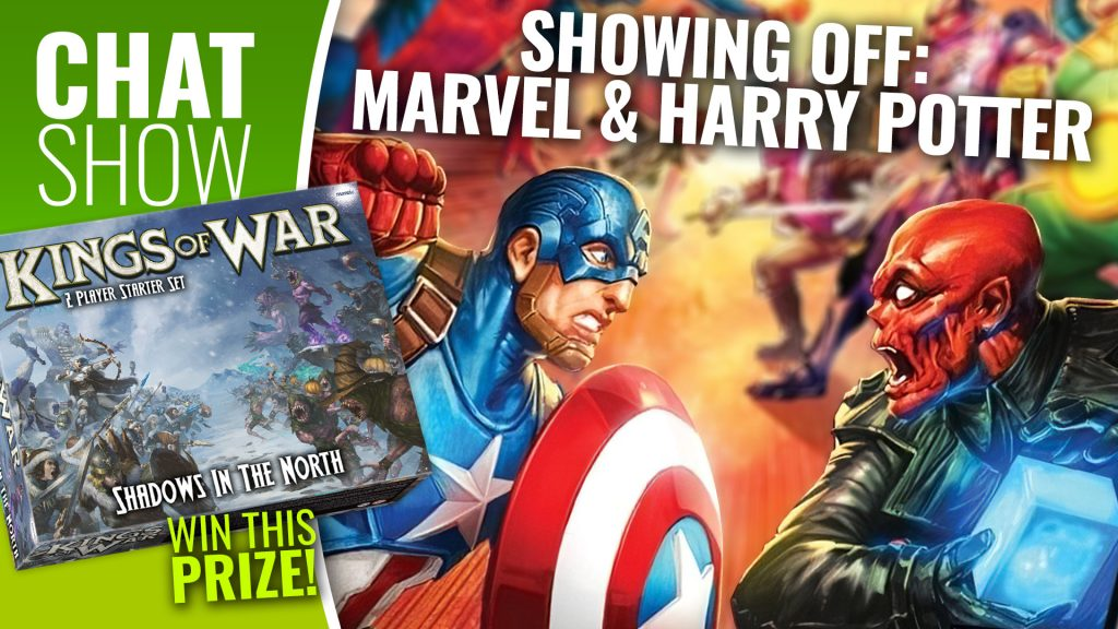 Weekender: Harry Potter & Marvel Show And Tell + WIN Kings Of War Starter Sets