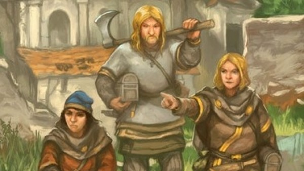 Sine Nomine Brings Dark Age RPG Wolves Of God To Kickstarter