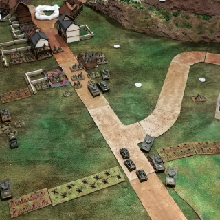 3rd Battle for Monte Cassino - Assault on the Town (Turns 3, 4 and 5)