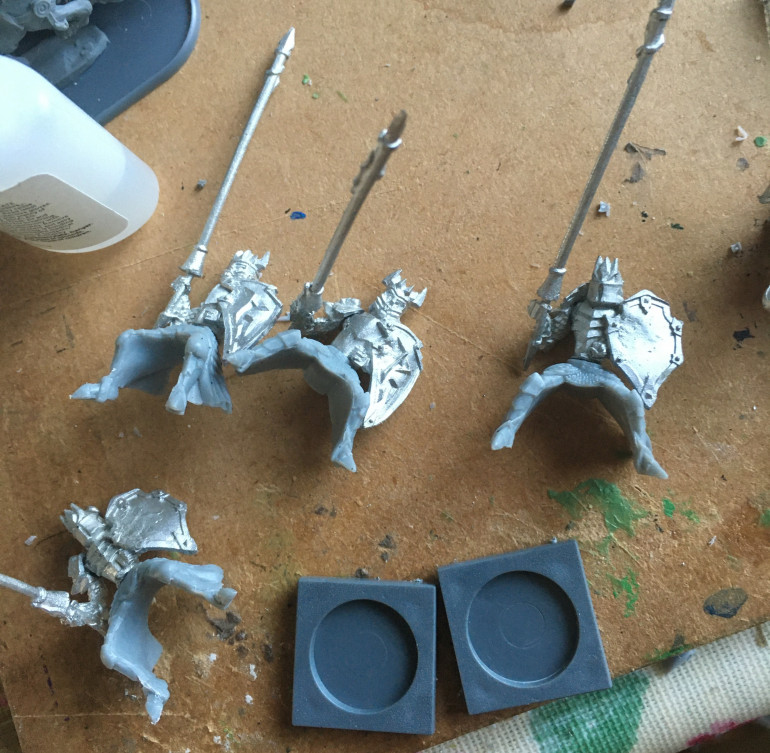Getting some cavalry built for the Undead