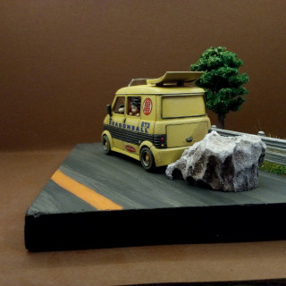 A Dragonball diorama for my brother's birthday
