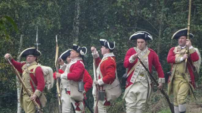 Rebels and Redcoats