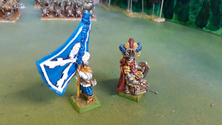 Middenheim BSB and Dogs of War Paymaster - both minis from MOM Miniatures