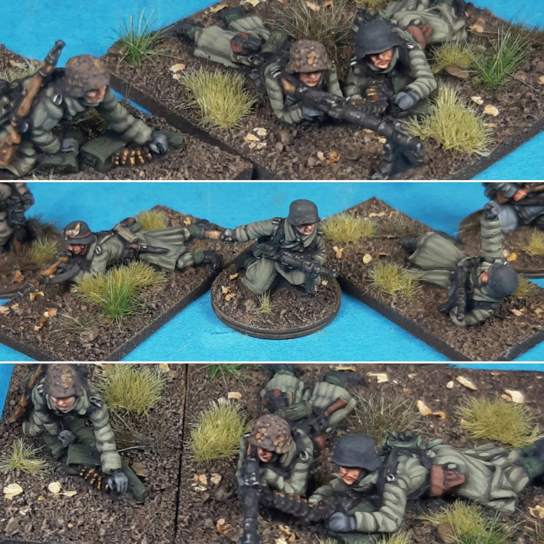 First Squad of AB Winter Germans in Greatcoats