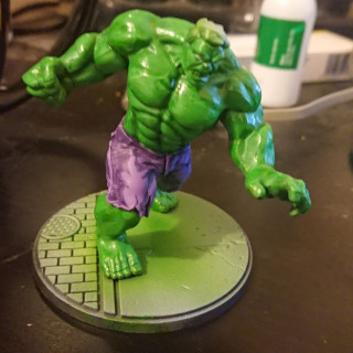Giving Hulk some more contrast