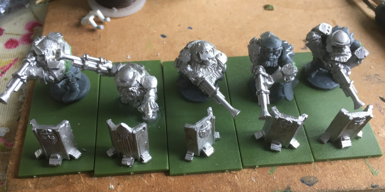 Sharpshooters - I have another unit to do as well.