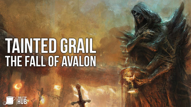 Painting Tainted Grail: The Fall of Avalon