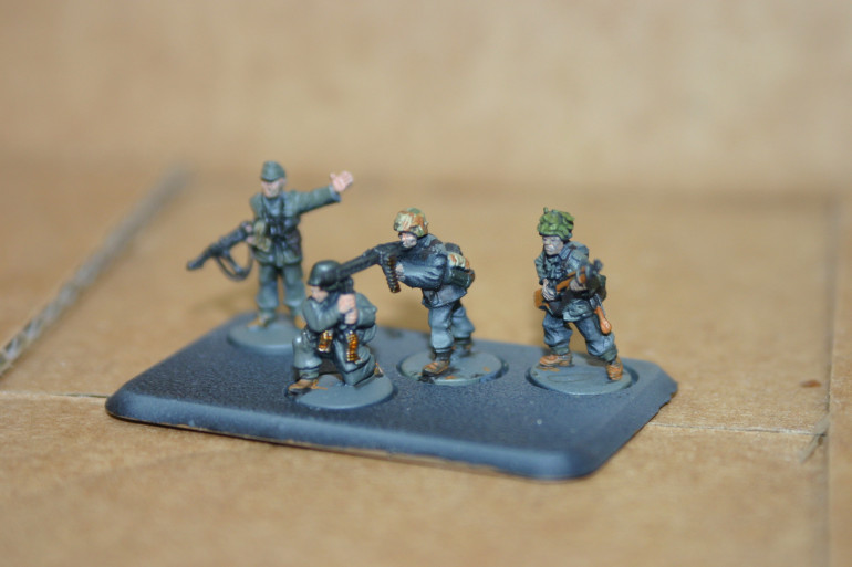 German infantry down and counting towards basing