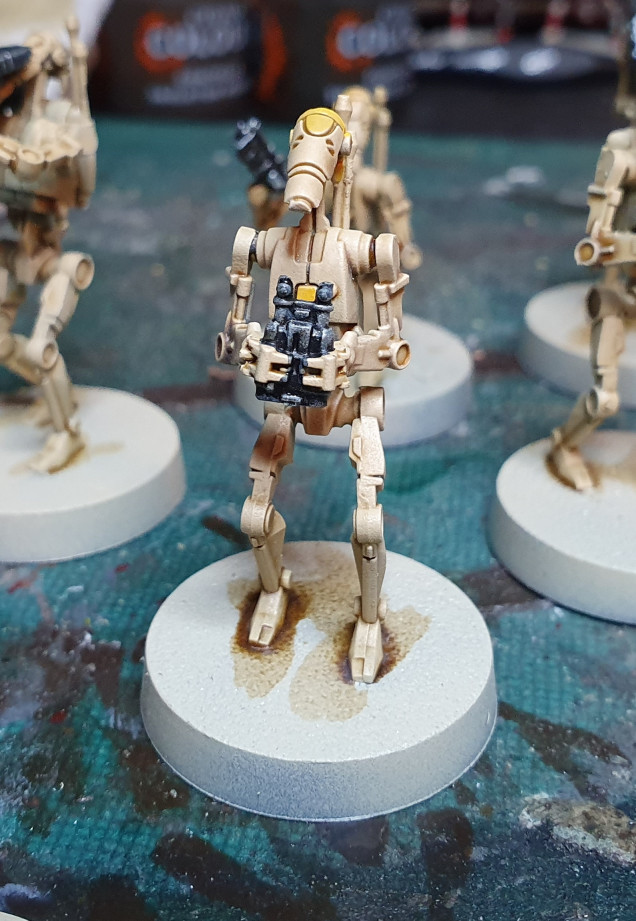 Squad Leader - Yuriel Yellow Paint before Contrast...