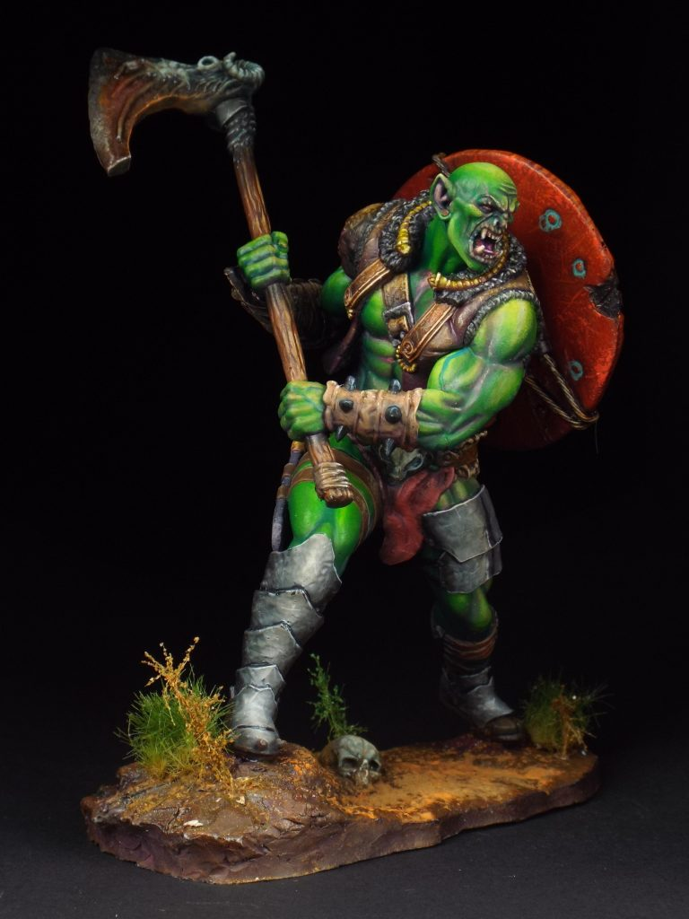 75mm Orc #1 by lioneldesa