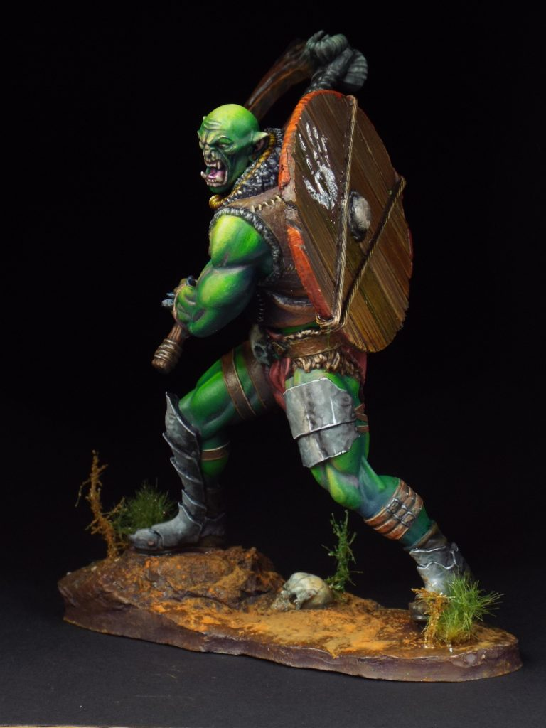 75mm Orc #2 by lioneldesa