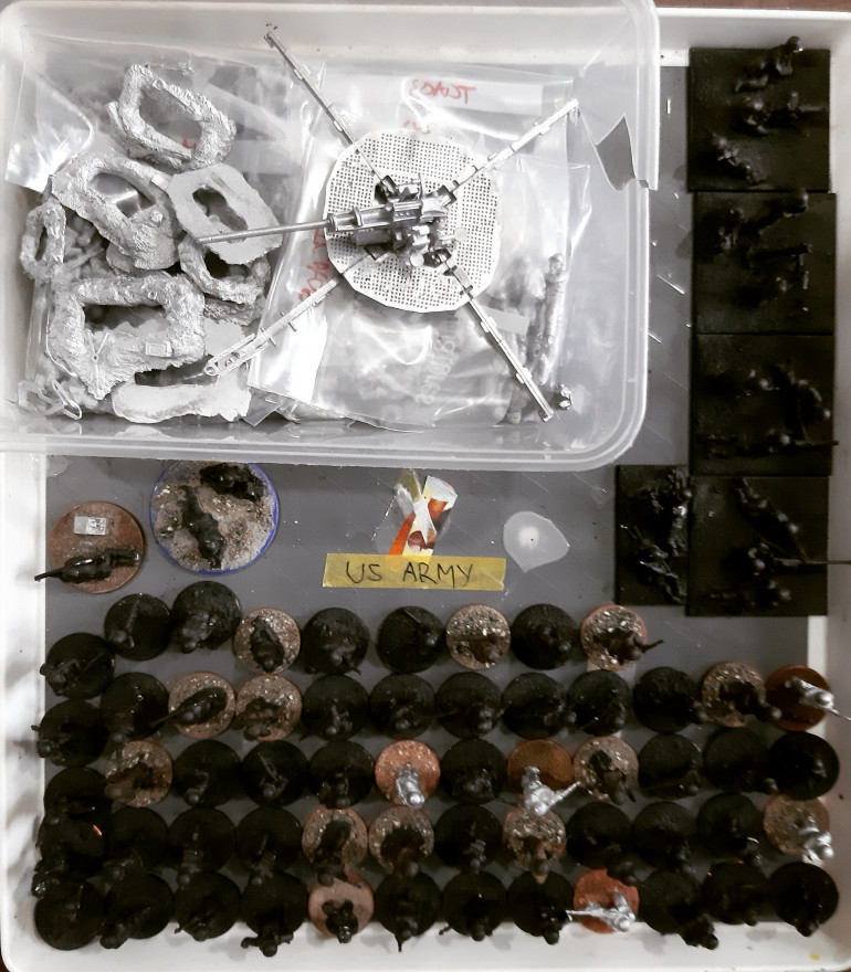 20mm Infantry 'to do' pile...