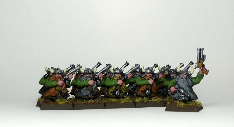 Second unit of Clan Marksmen with champion