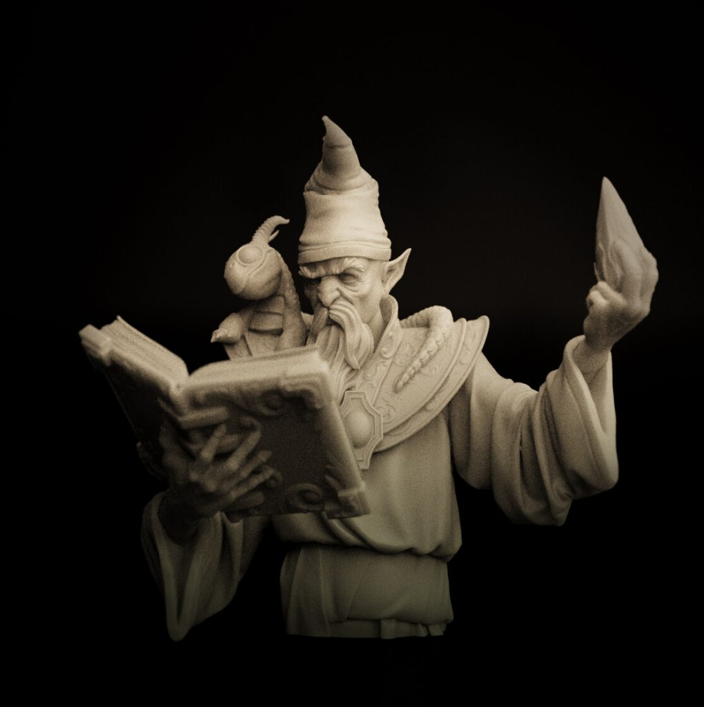 Agedalf Wizard Of The North - White Wolf Miniatures