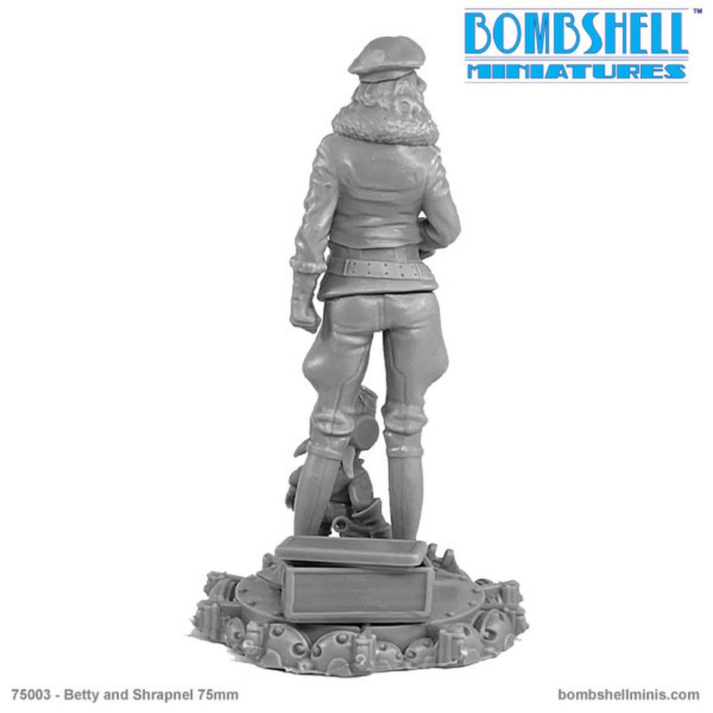 Betty & Shrapnel #2 - Bombshell Miniatures
