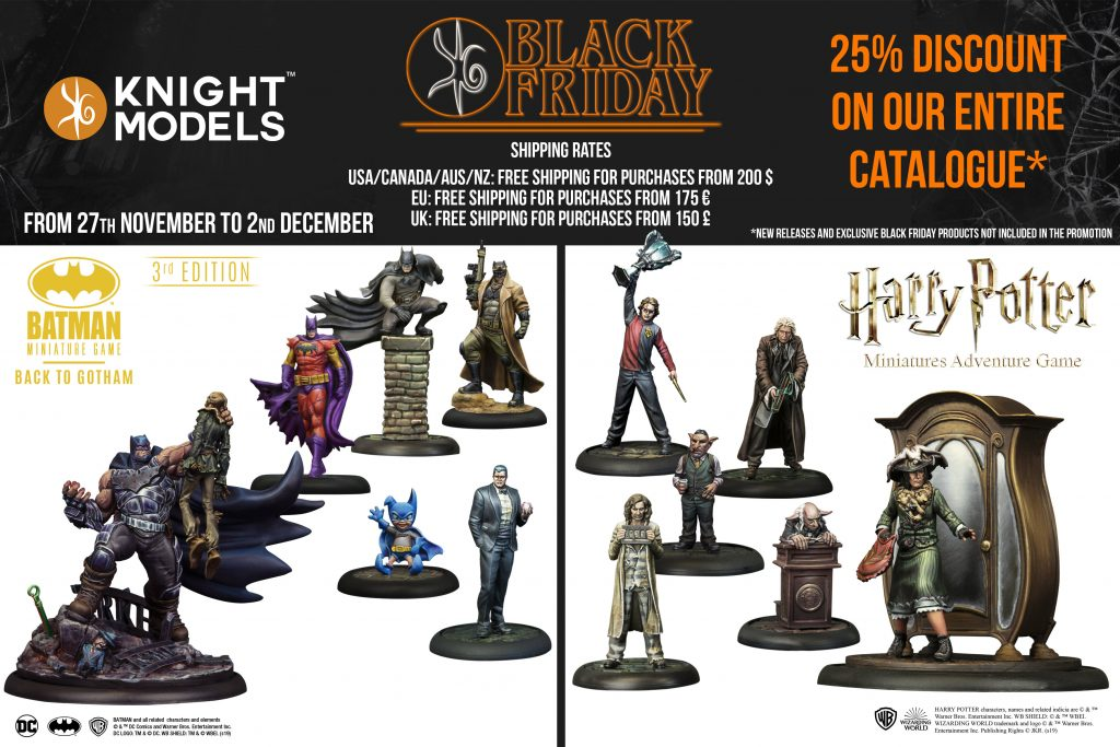 Black Friday Models Both - Knight Models
